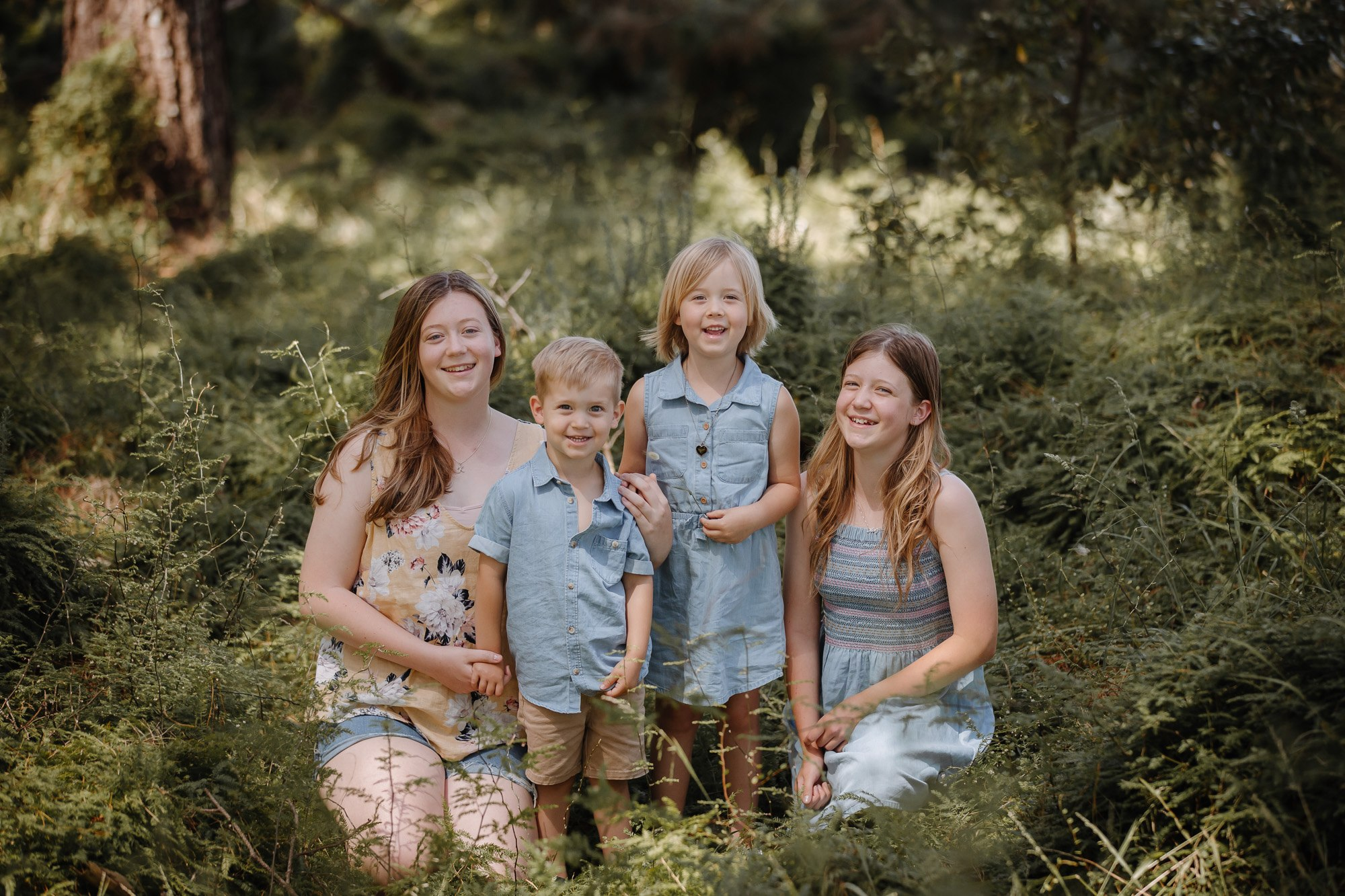 what to dress kids for family portraits